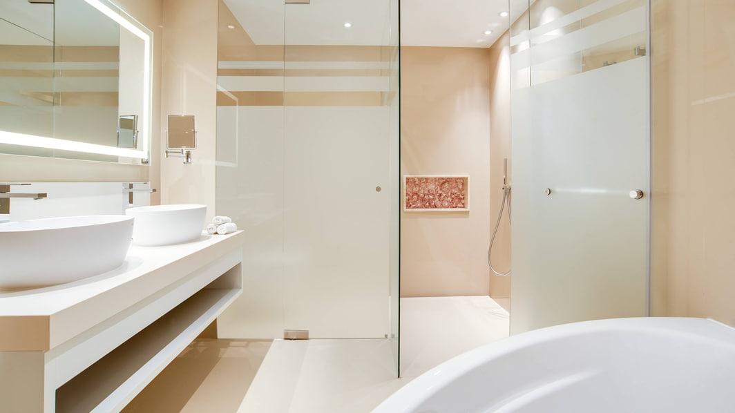 プレミアムデュープレックススイート-バスルーム