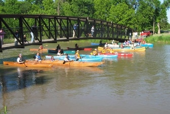 Kayaking the Red River