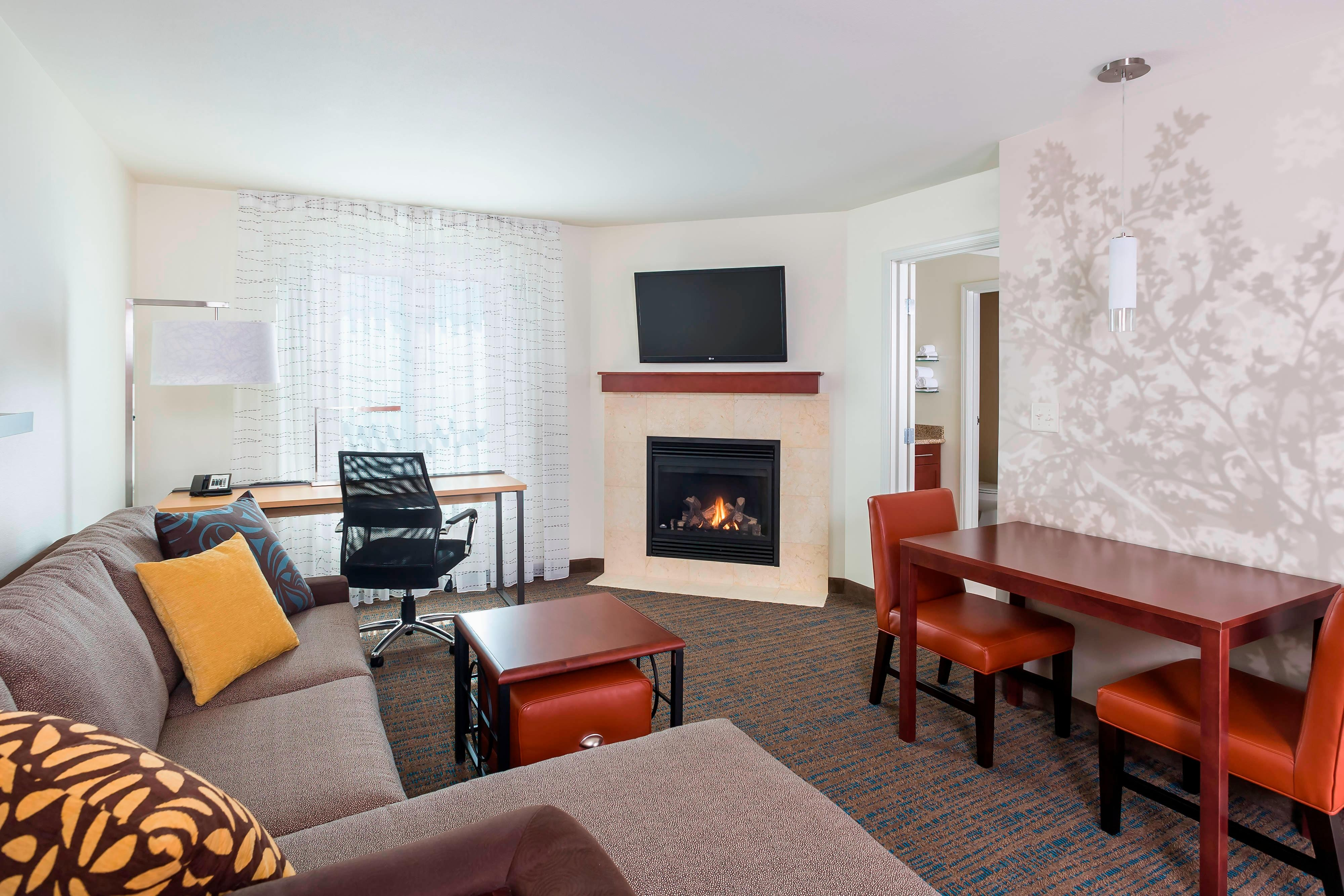 One-Bedroom Fireplace Suite