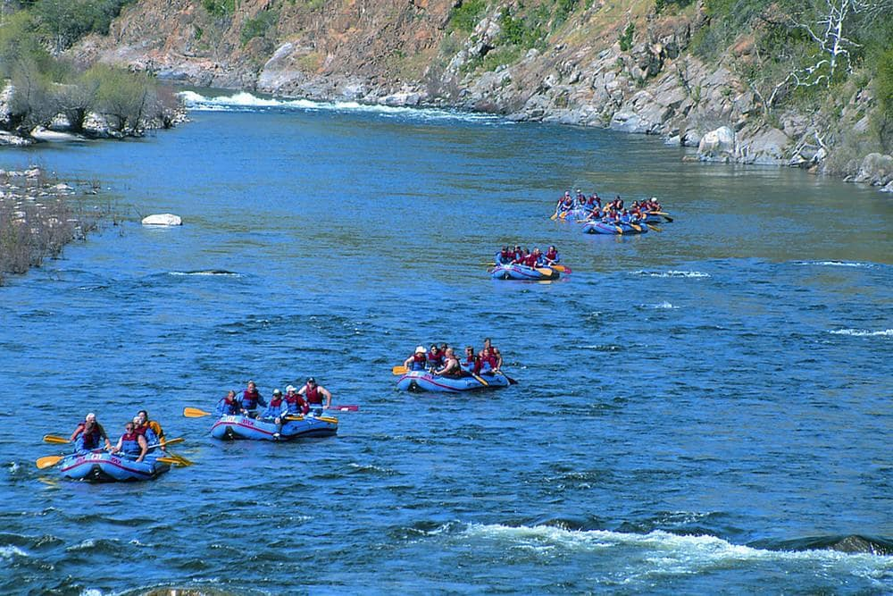 Kings River – Whitewater Rafting