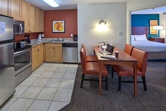 Suite Kitchen Fayetteville Extended stay hotel