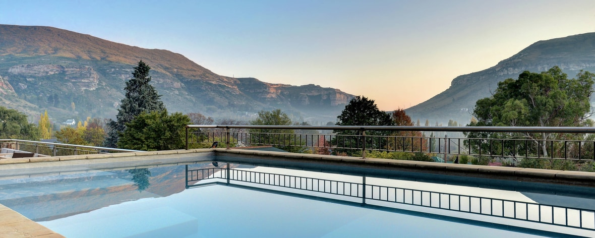Four Star Accommodation In Clarens Protea Hotel Clarens