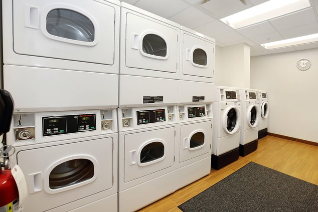 Enjoy the convenience of our on-site laundry room open 24 hours.