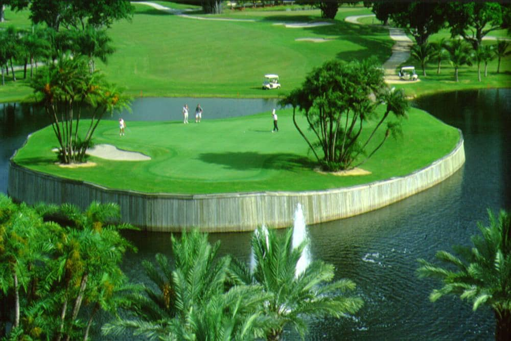 Hotel de golf Marriott en Ft. Lauderdale