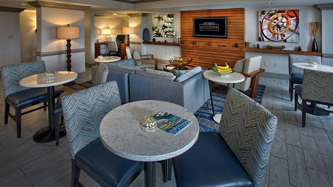 Concierge lounge in Fort Lauderdale