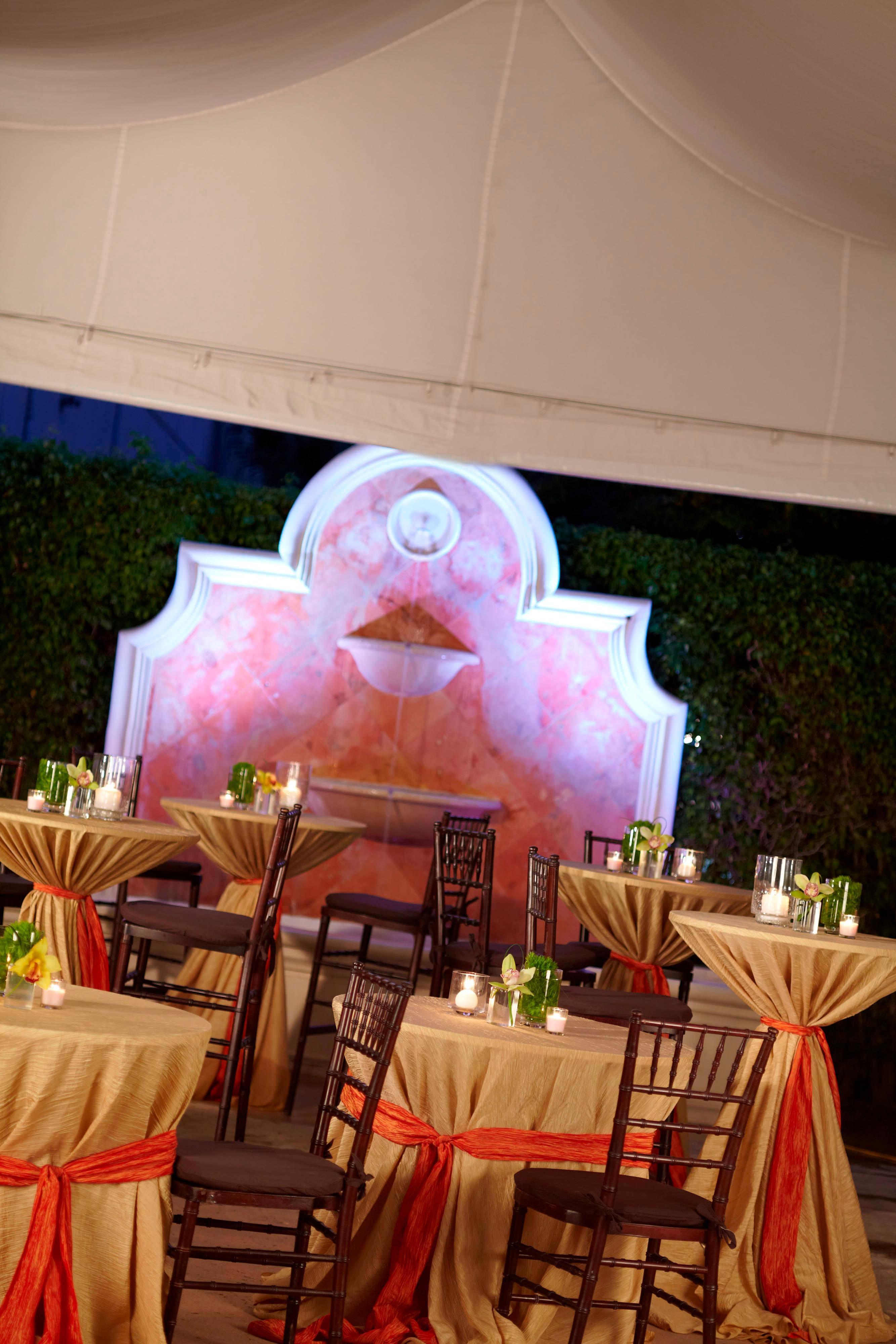 Instalaciones para eventos al aire libre en Fort Lauderdale