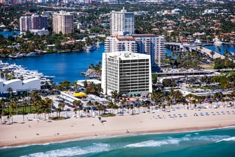 Hotel Courtyard Fort Lauderdale Beach frente al mar