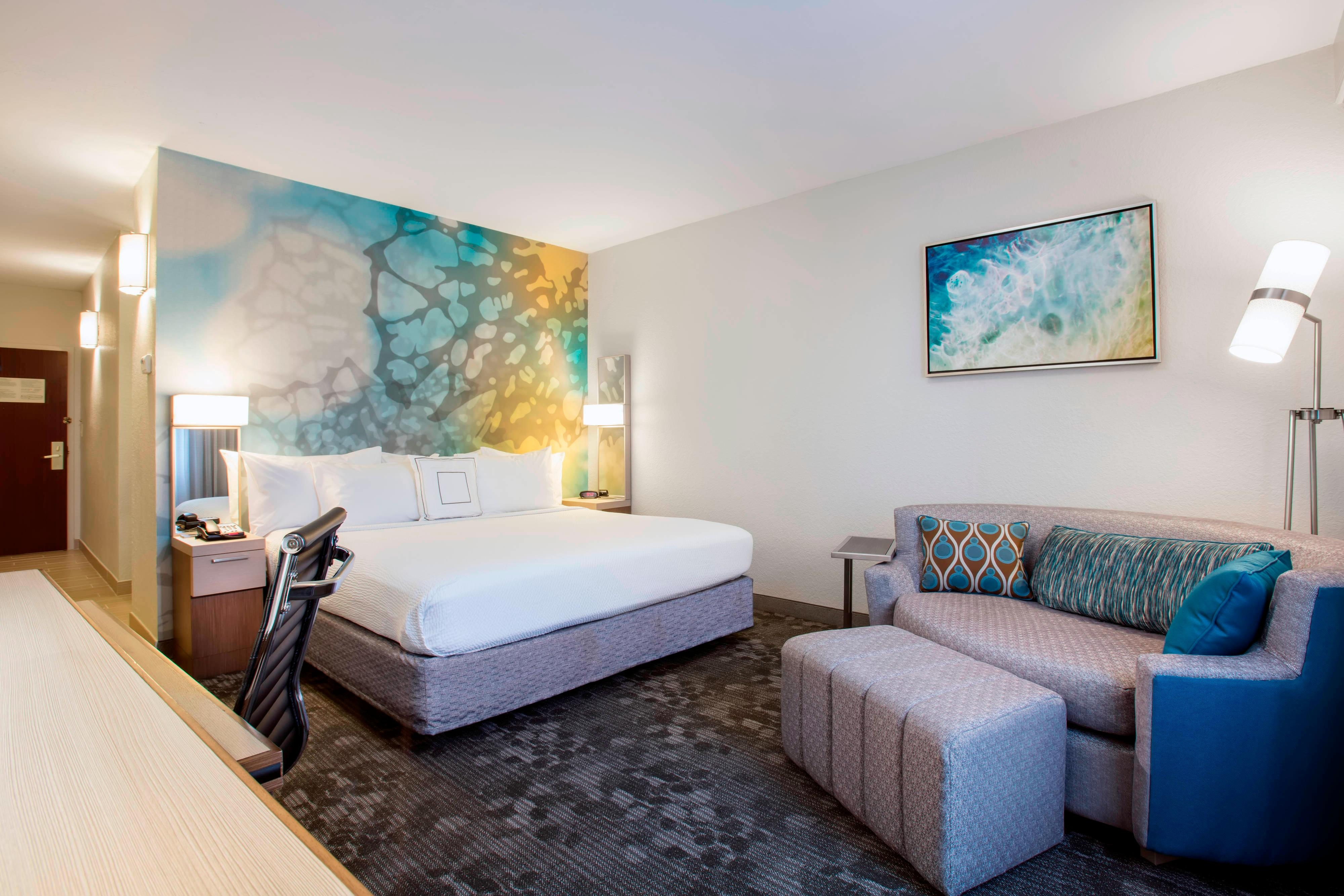 Newly Renovated King Guest Room