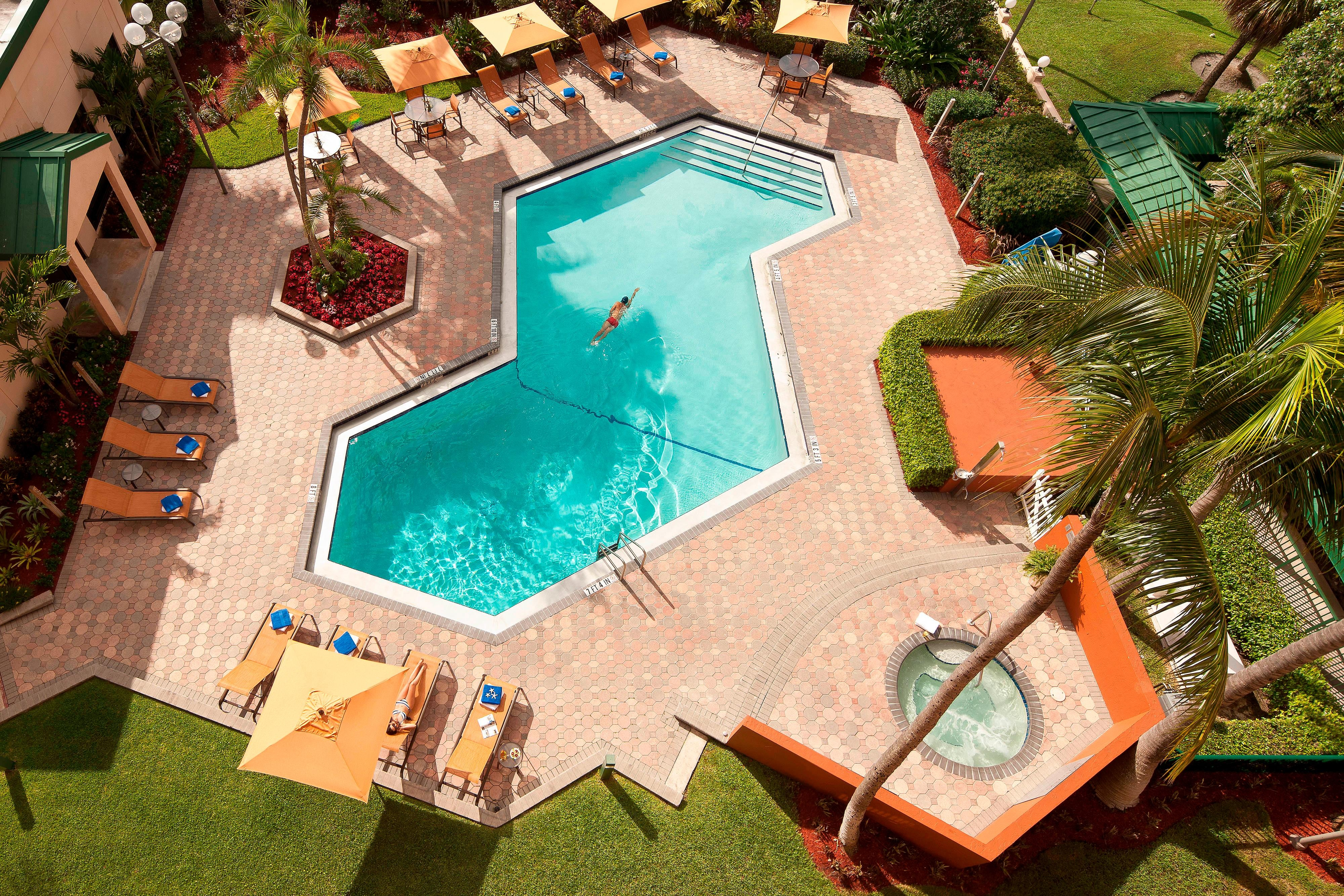 Piscina del Courtyard Fort Lauderdale East