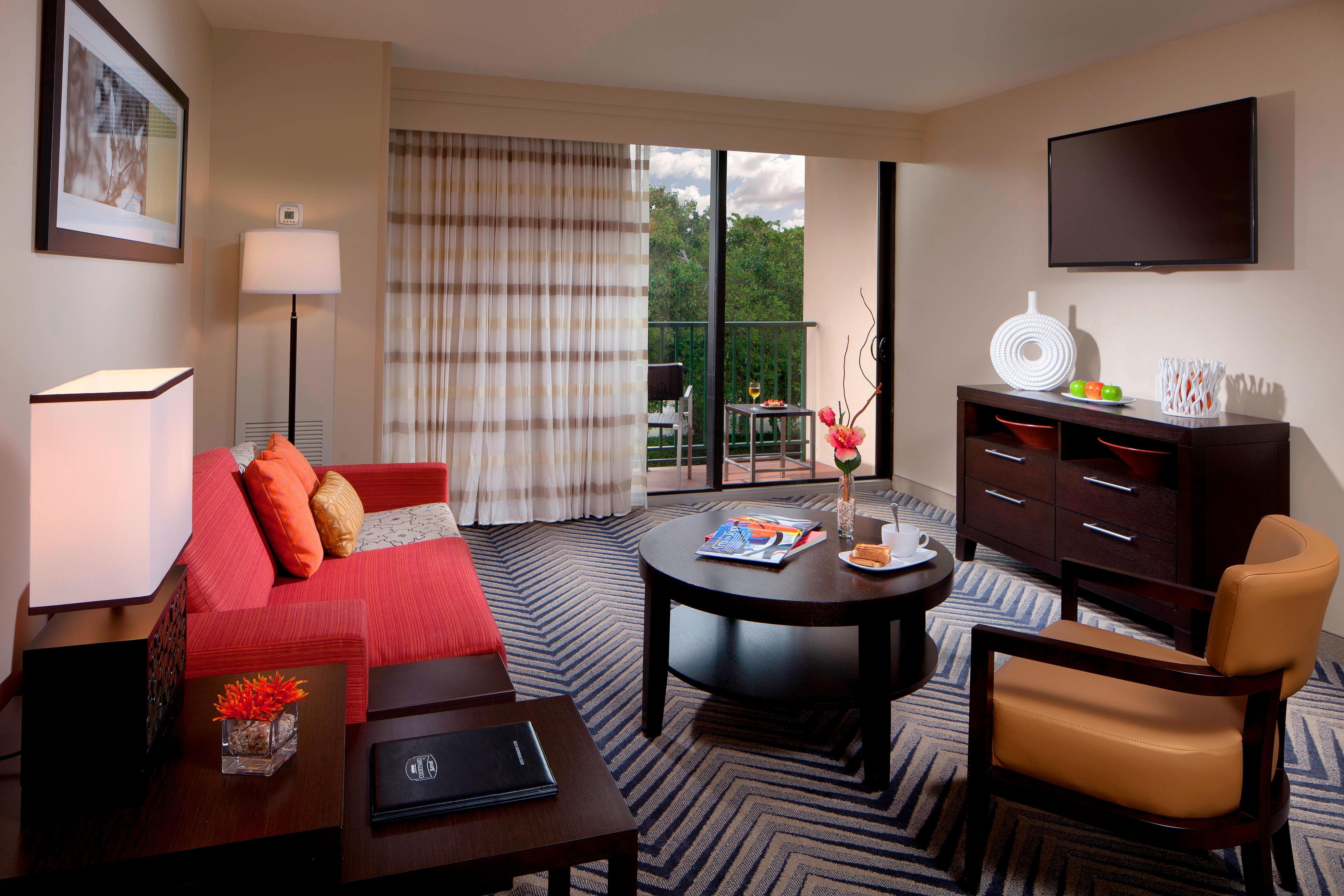 Suite de l'hôtel Courtyard Fort Lauderdale East