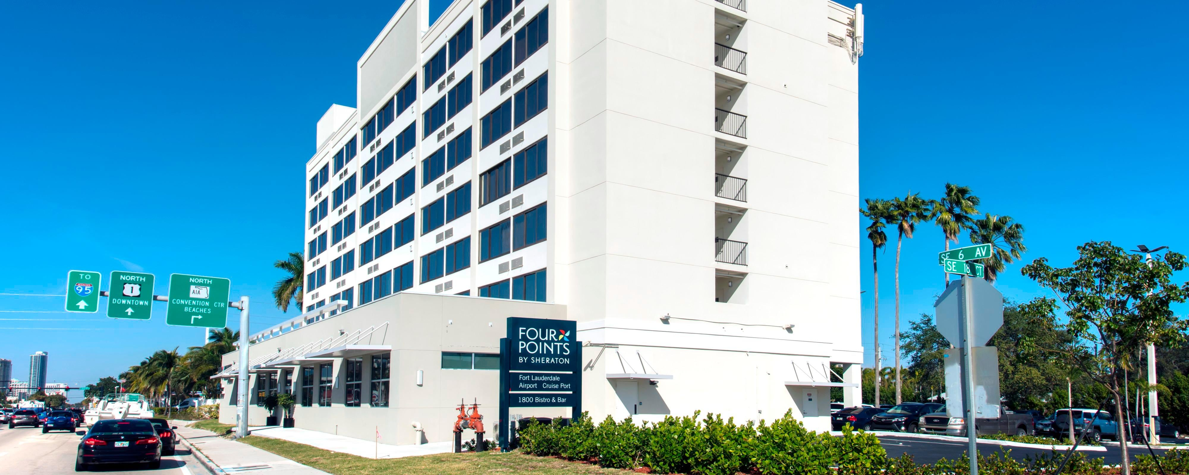 Business Leisure Hotel In Fort Lauderdale Four Points By Sheraton Airport Cruise Port