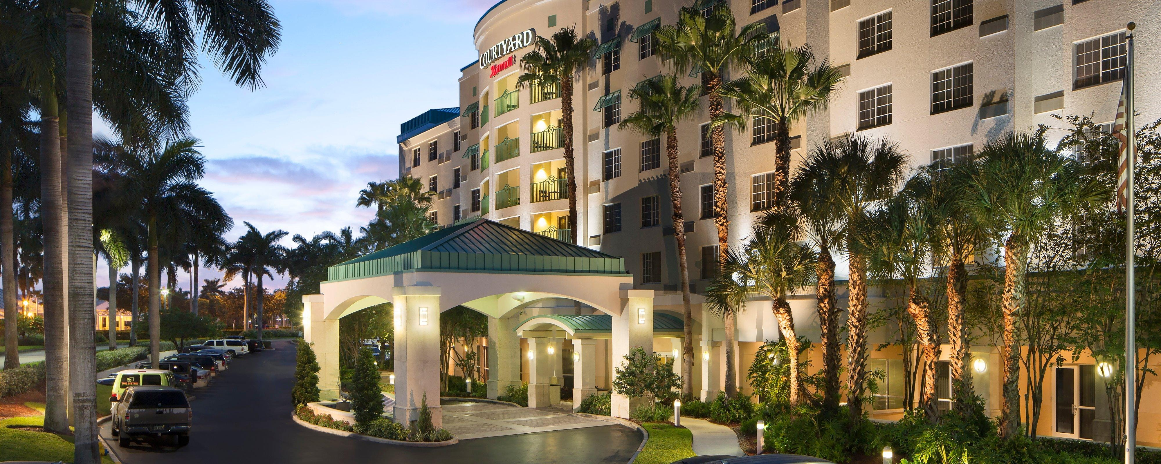 Hotels near Fort Lauderdale Airport | Courtyard Fort Lauderdale ...