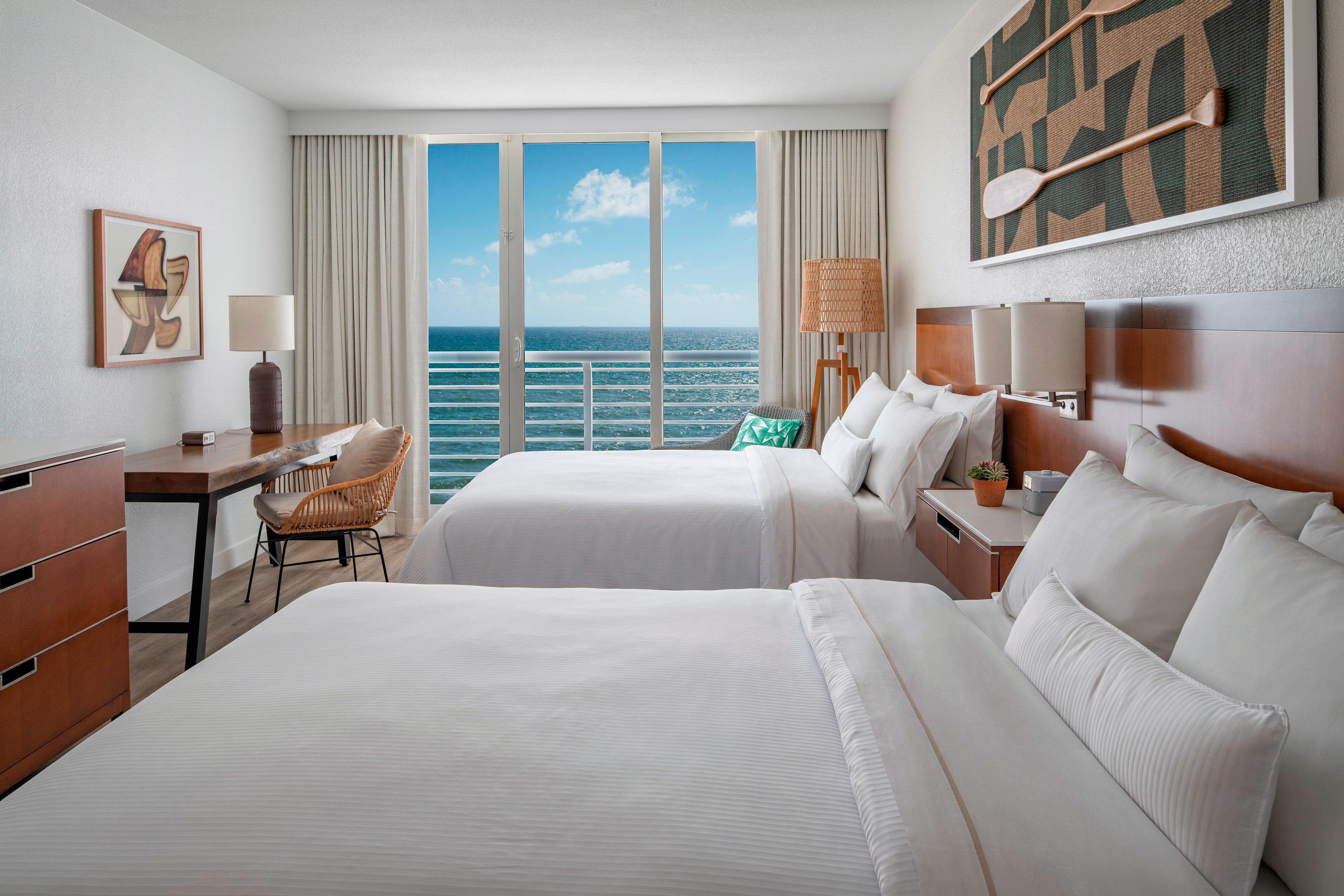Double/Double Premium Ocean View
