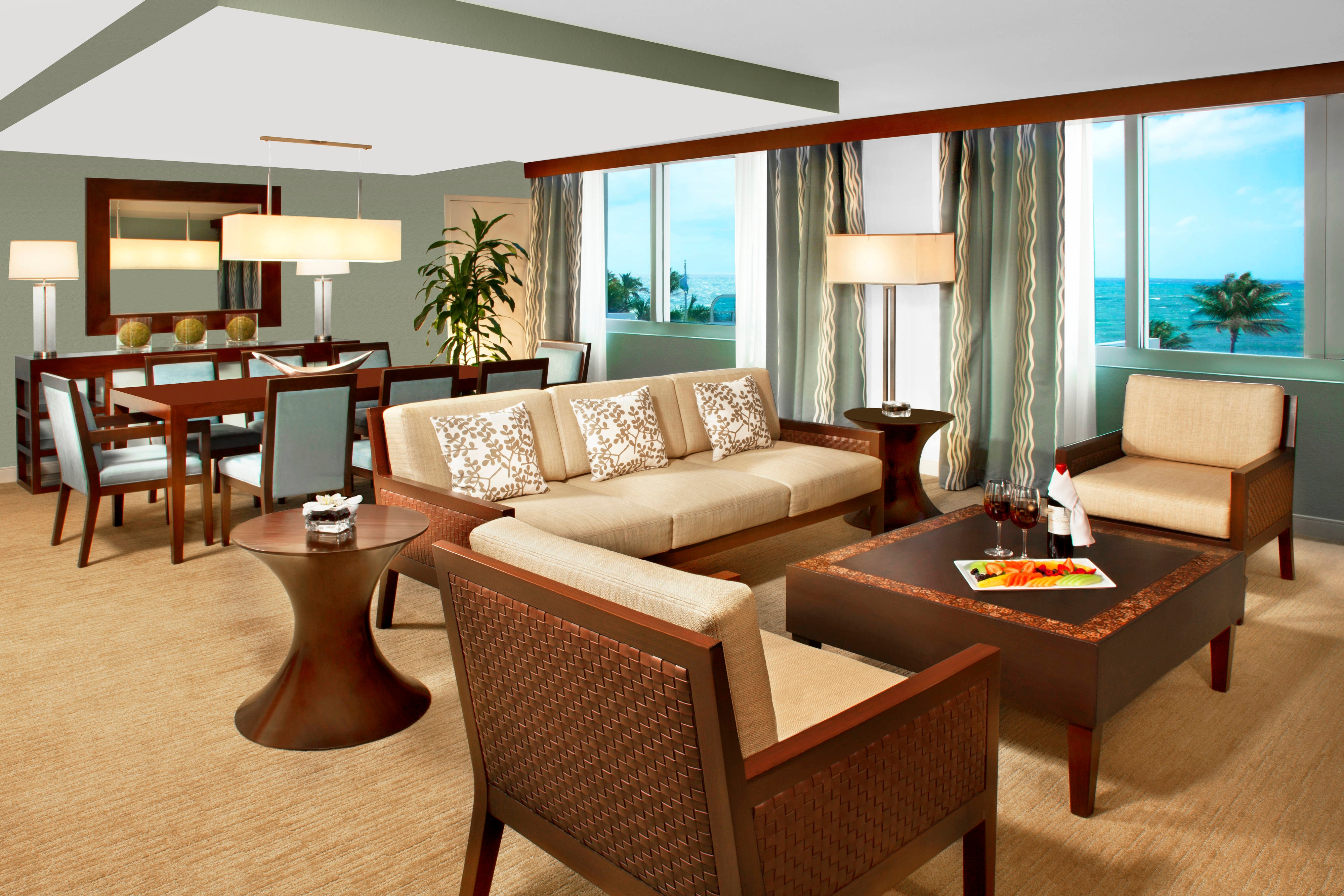 Governor s Suite - Living and Dining Rooms