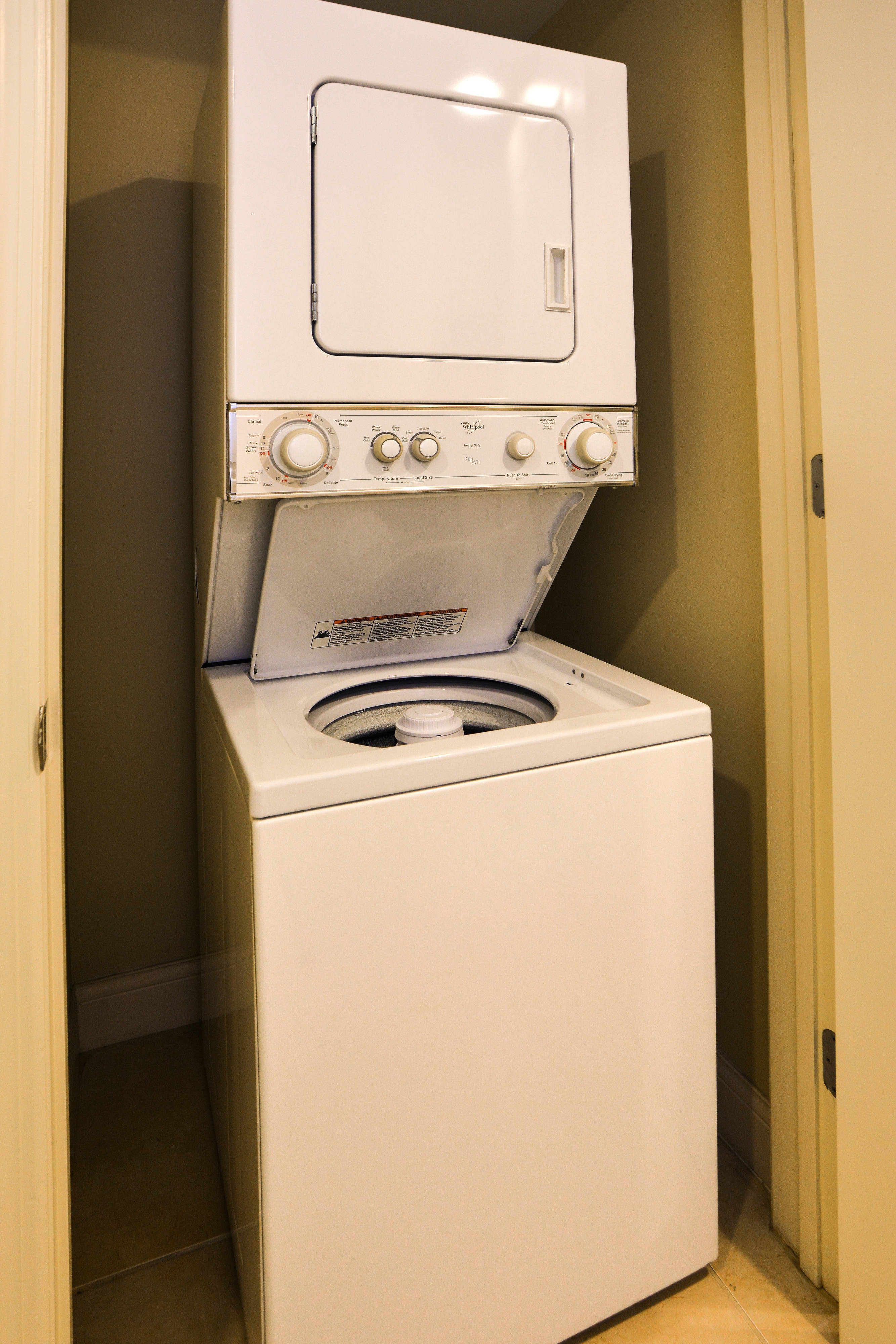 Residence Inn Fort Lauderdale Intracoastal washer and dryer