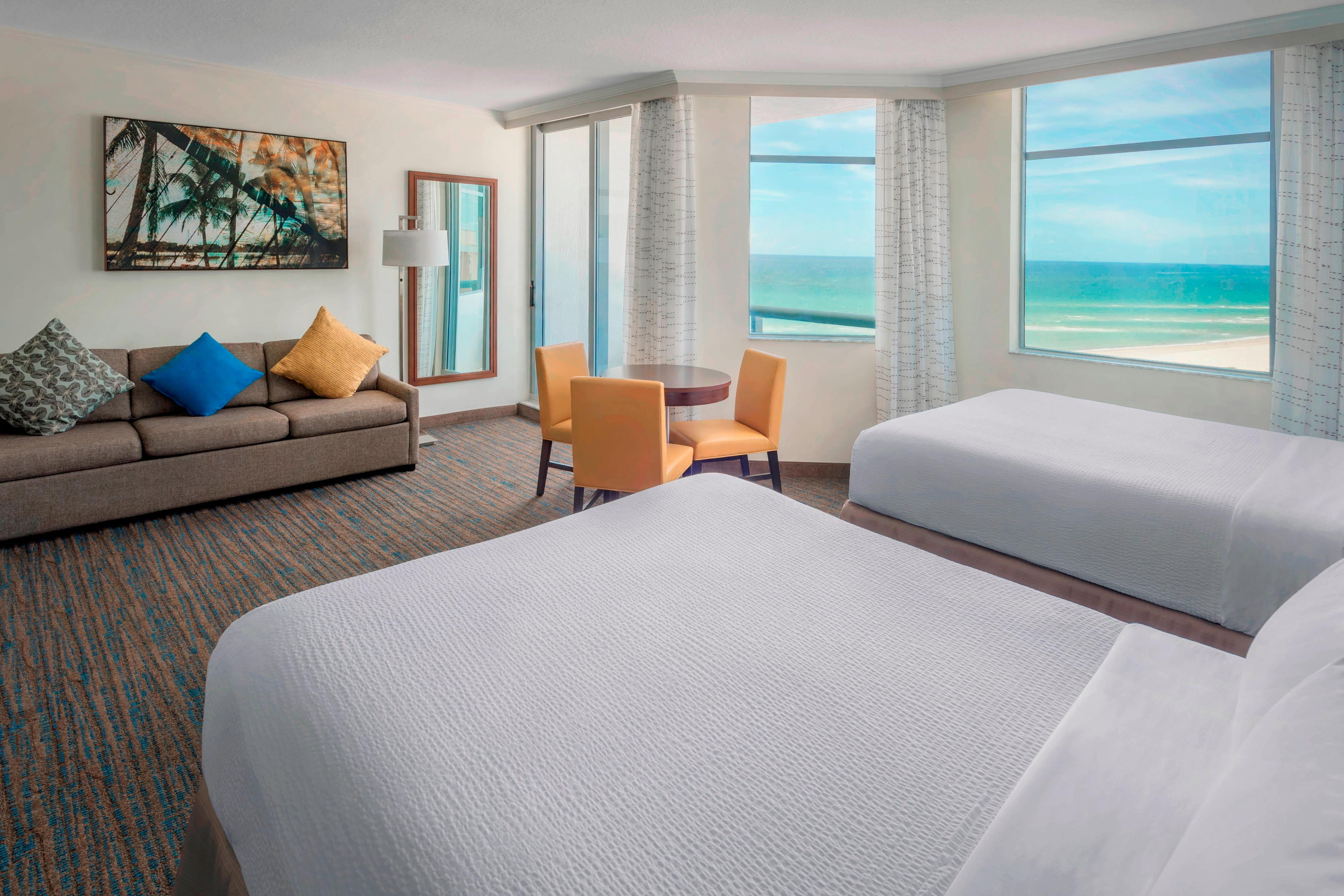Pompano beach hotel guest rooms in pompano beach fl - Cheap 2 bedroom suites in miami beach ...