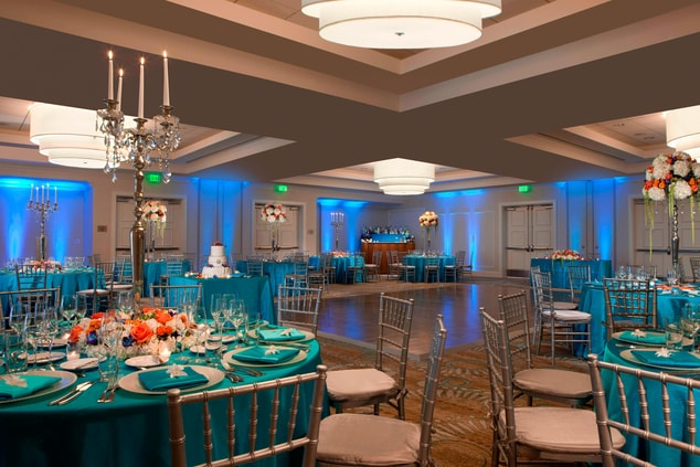 Grand Bahama Ballroom – Wedding Setup