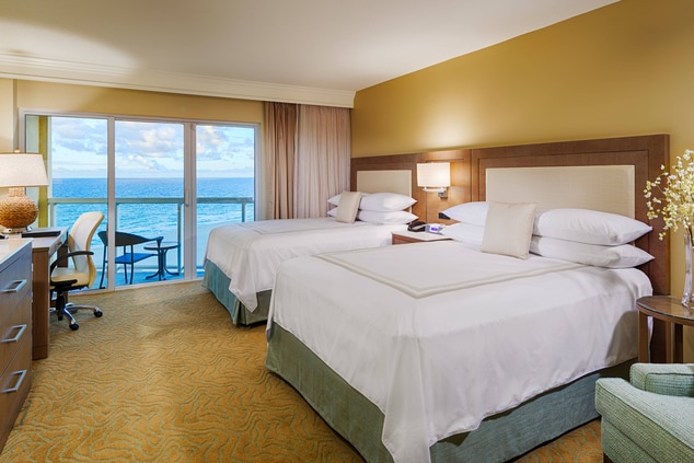 Pompano Beach Oceanfront Hotel Rooms