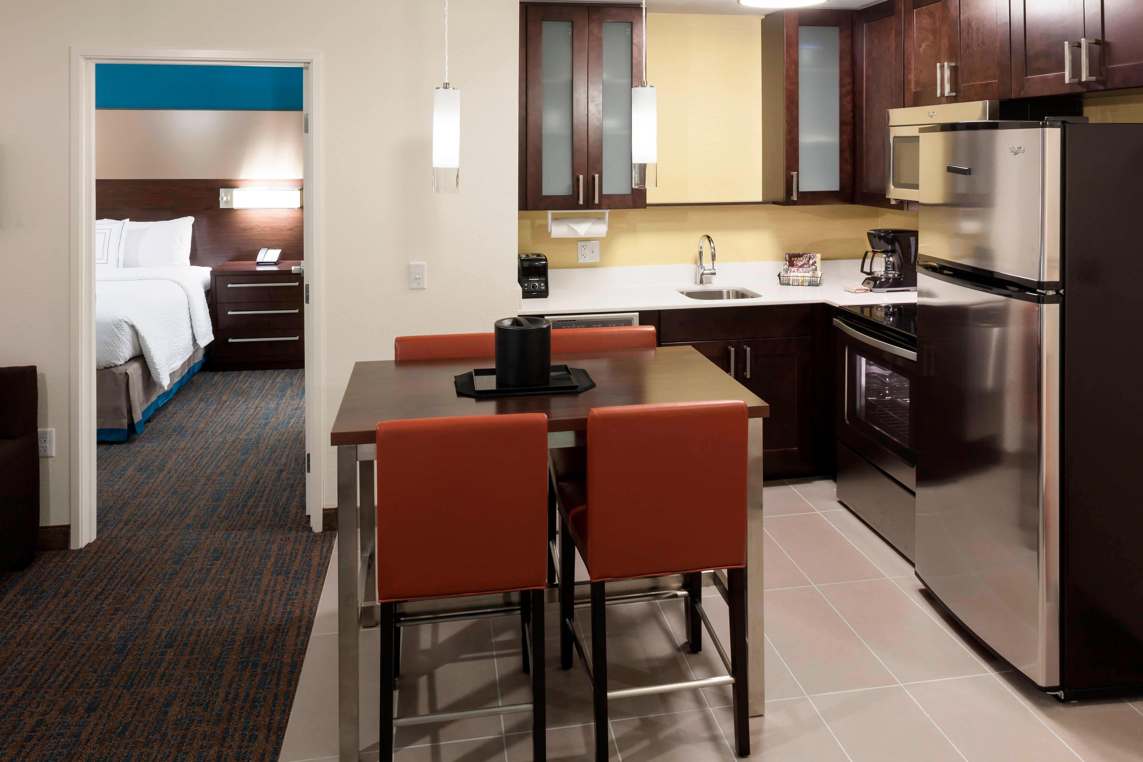 Suite à deuxchambres - espace cuisine