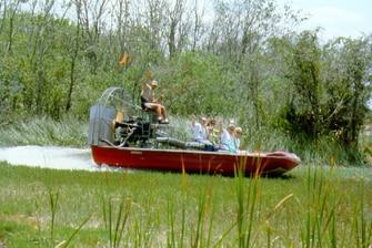Excursiones en hidrodeslizador por los Everglades