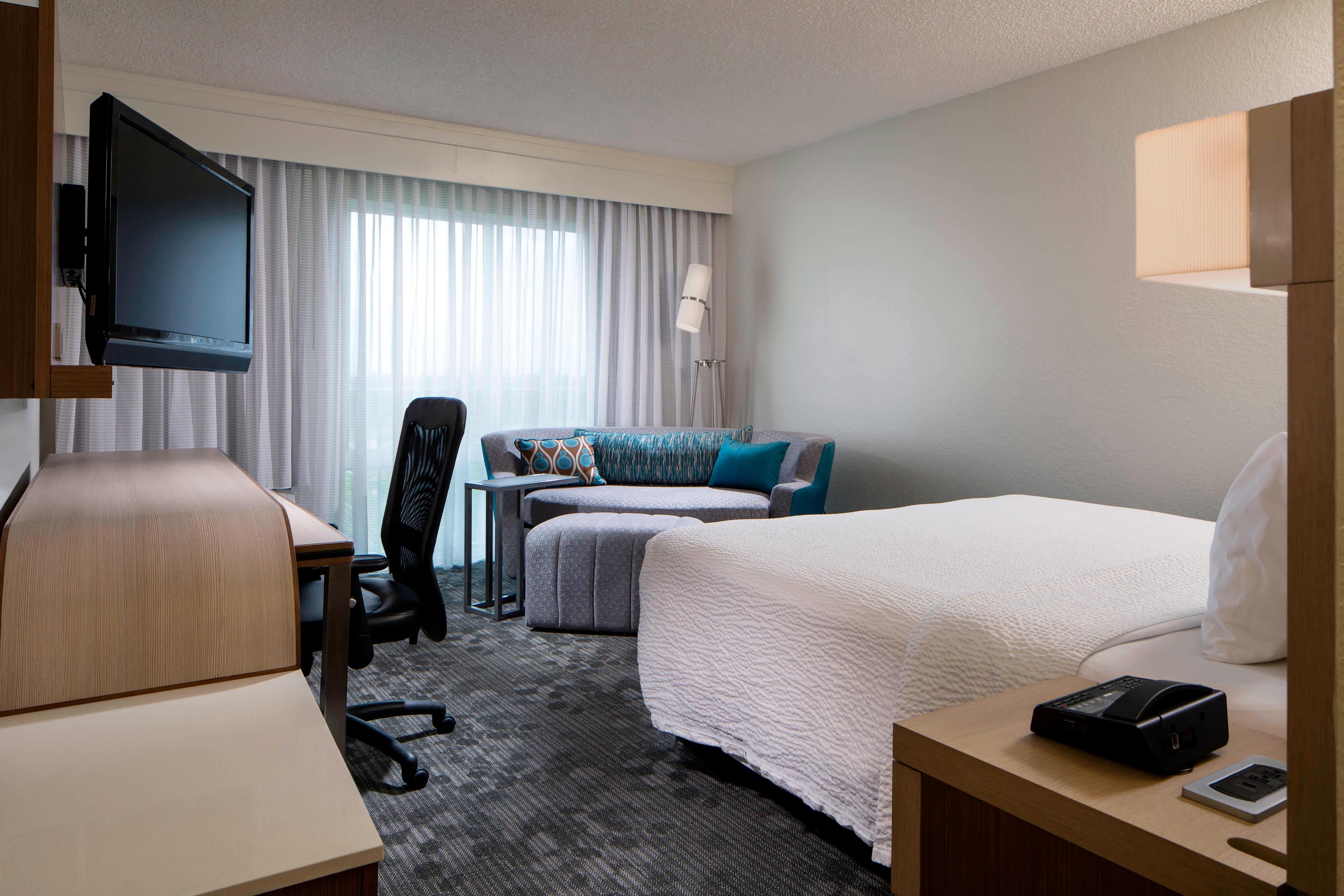 Weston Florida Hotel Rooms King Guest Room