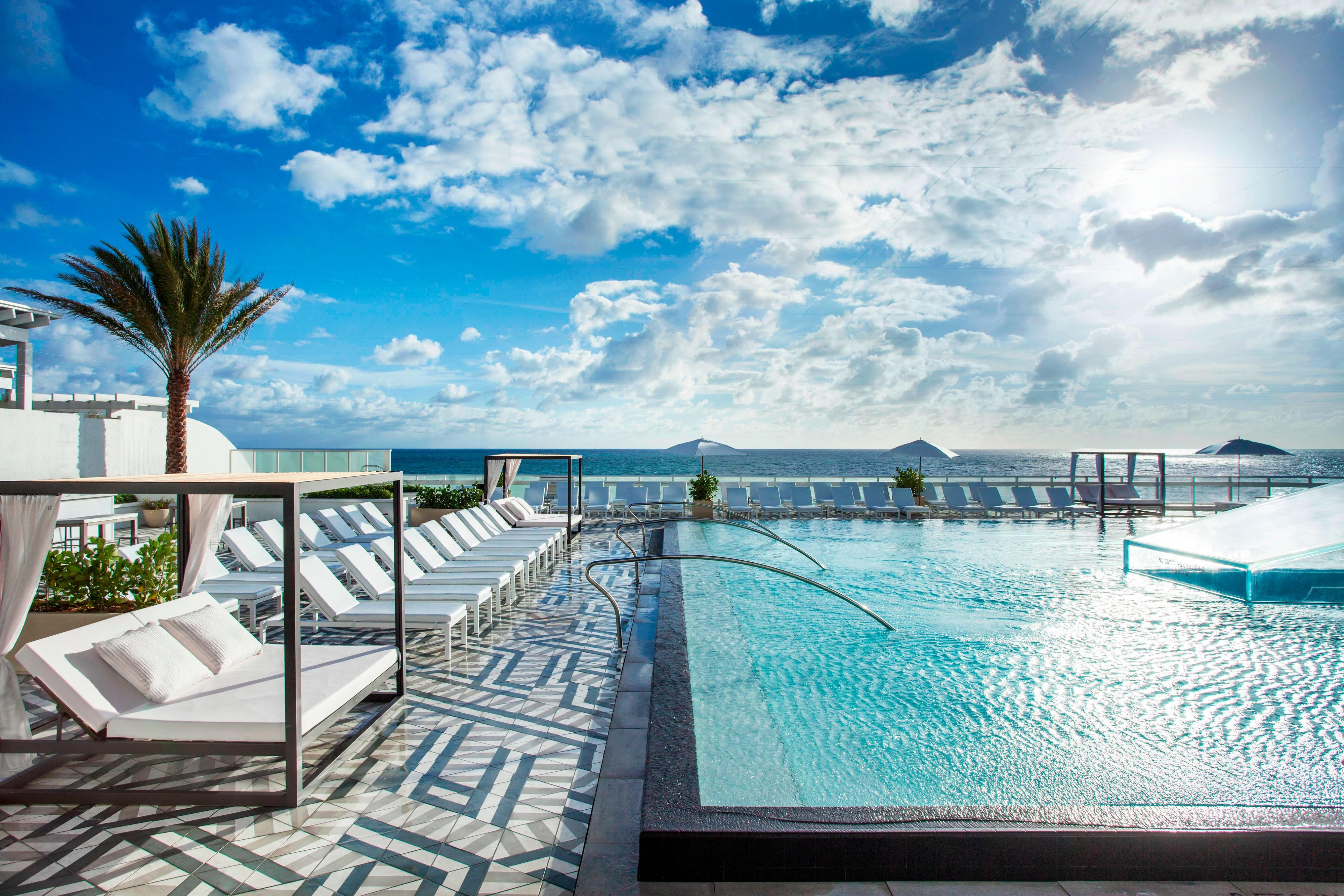 WET East Oceanfront Infinity-Style Pool