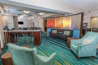 SpringHill Suites Marriott Florence Lobby Seating