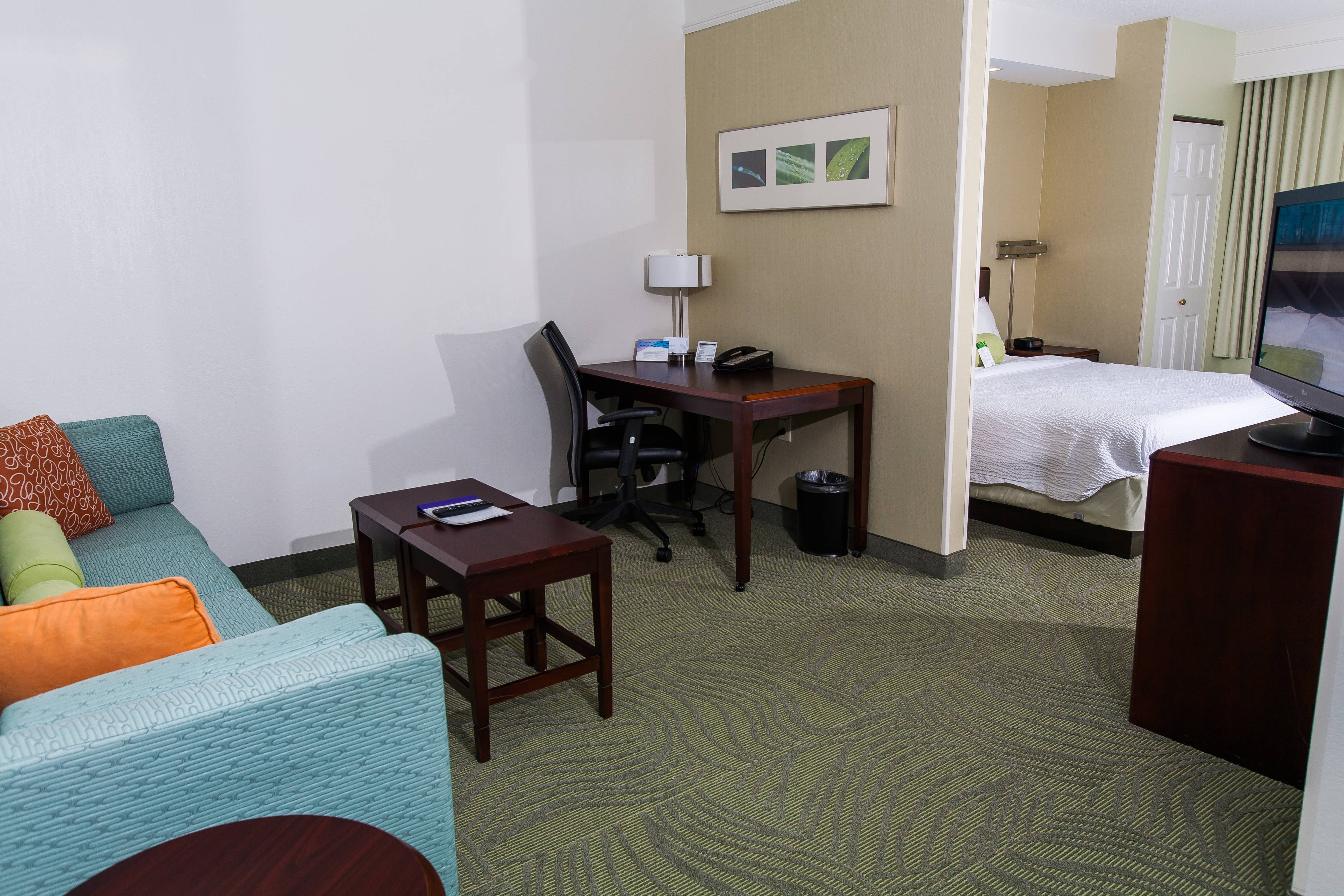 SpringHill Suites Marriott Florence King Suite