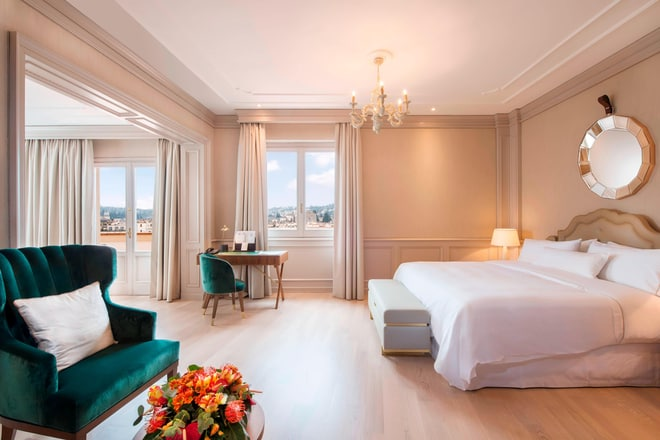 Belvedere Suite - Bedroom