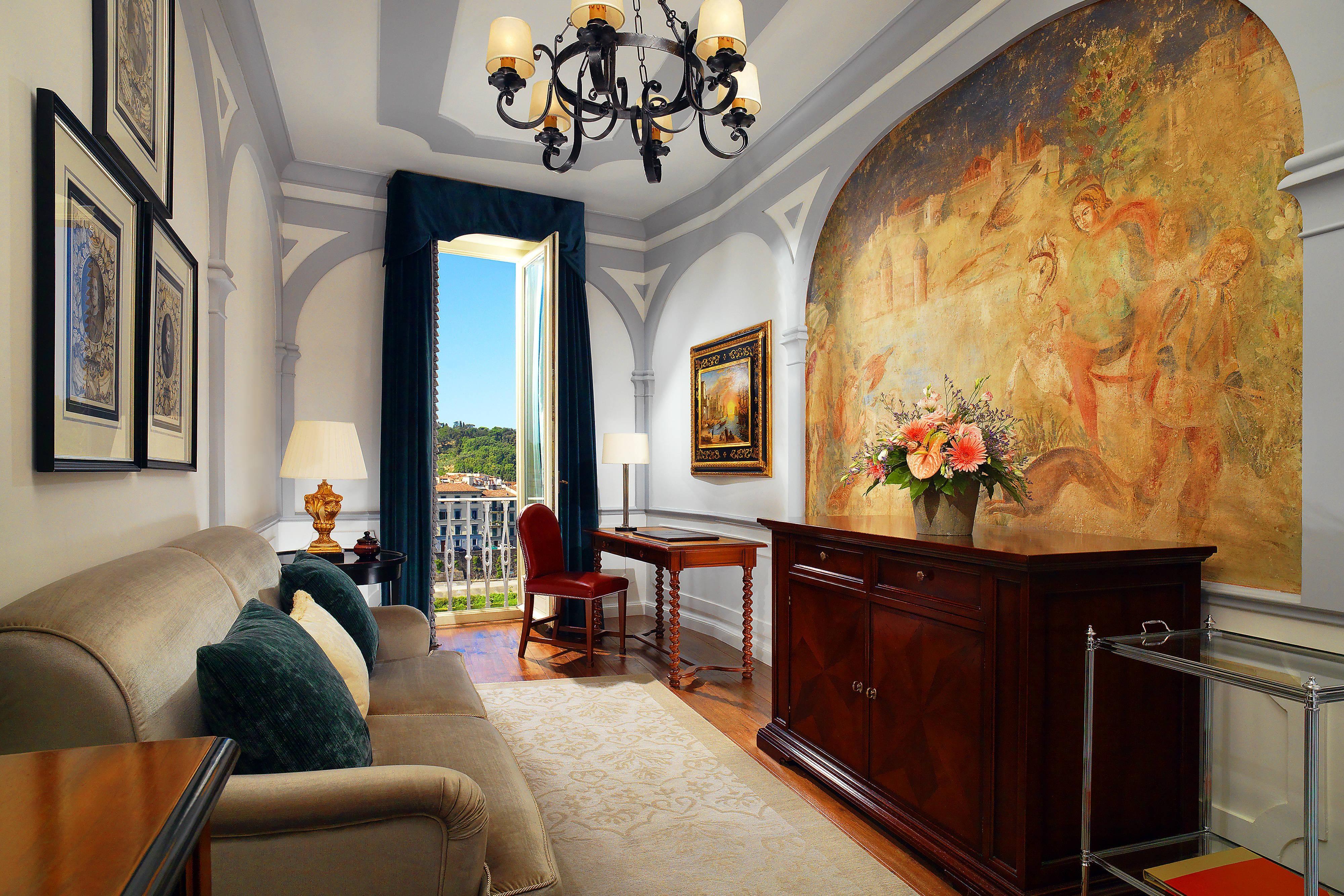 Grand Deluxe Suite Palazzo Vecchio - Living Room