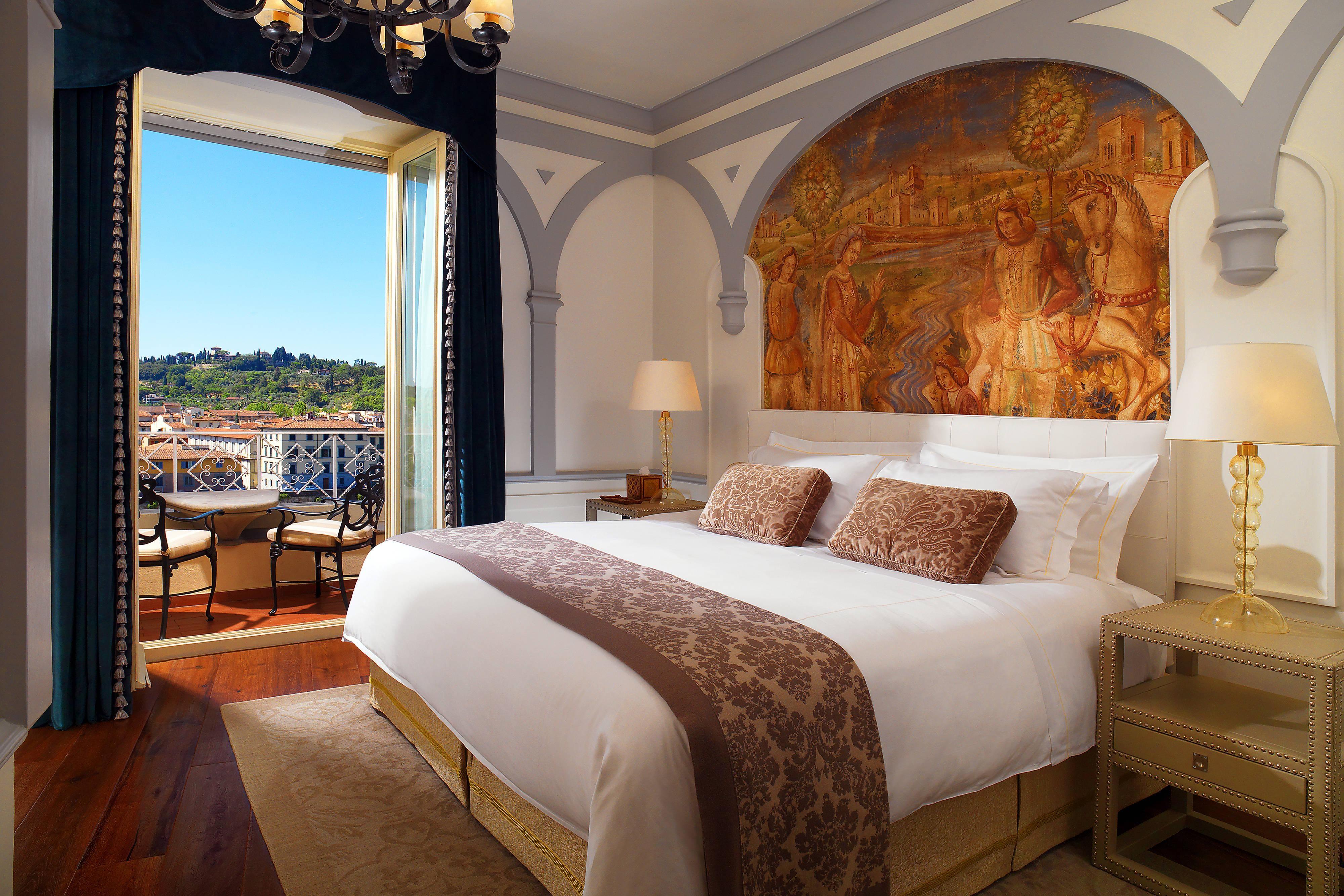 Grand Deluxe Suite Palazzo Vecchio - Master Bedroom