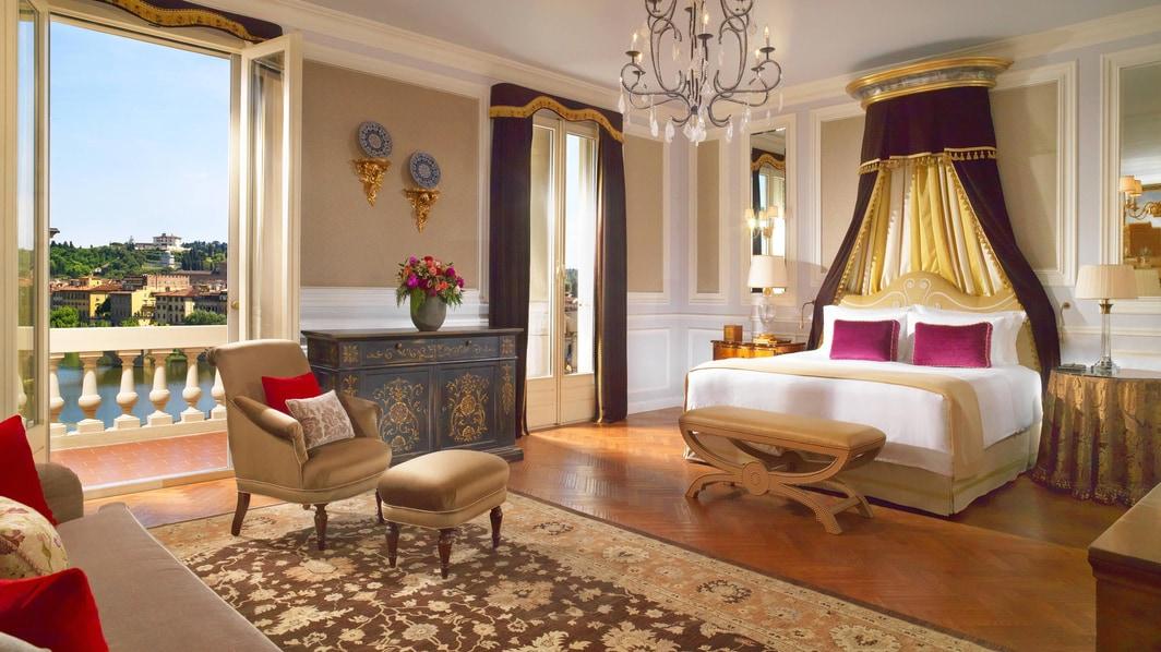Suite Presidencial Da Vinci, dormitorio principal