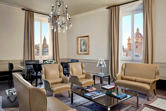 Bottega Veneta Suite - Living Room