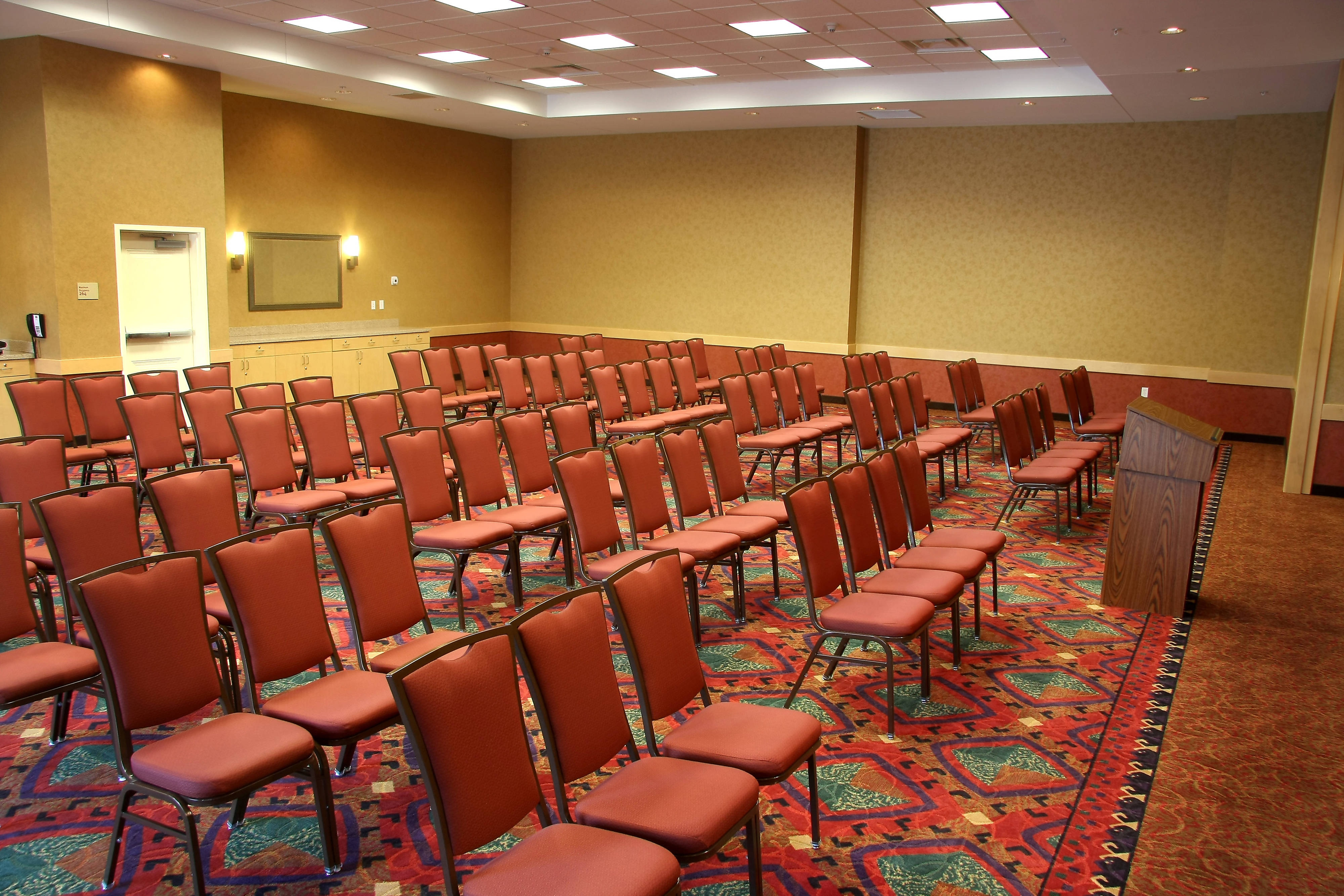Farmington TownePlace All Suite Hotel Angel Peak Meeting Room – Theater Setup