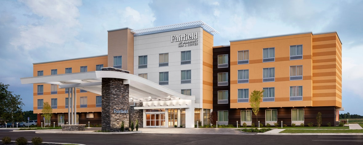 Fairfield Inn business hotel photography