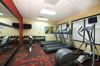 Flint MI hotel fitness center