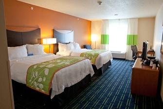 Flint Fenton Hotel Room