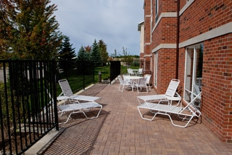 Hotel Patio Flint Fenton Michigan