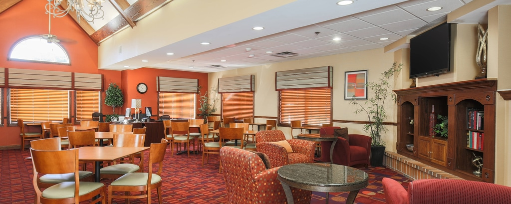Flint Michigan Hotel Dining Area