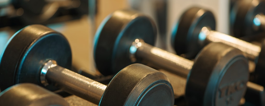 Hotel gym and fitness facilities at Four Points Hotel