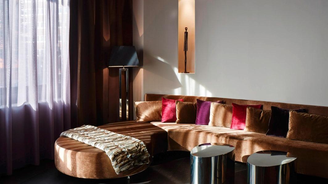 Área de estar de la habitación Prestige