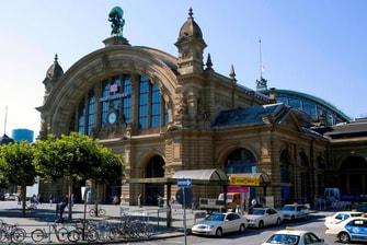 Gare centrale de Francfort, Allemagne