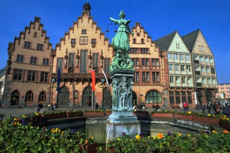Historic city hall, Frankfurt Germany