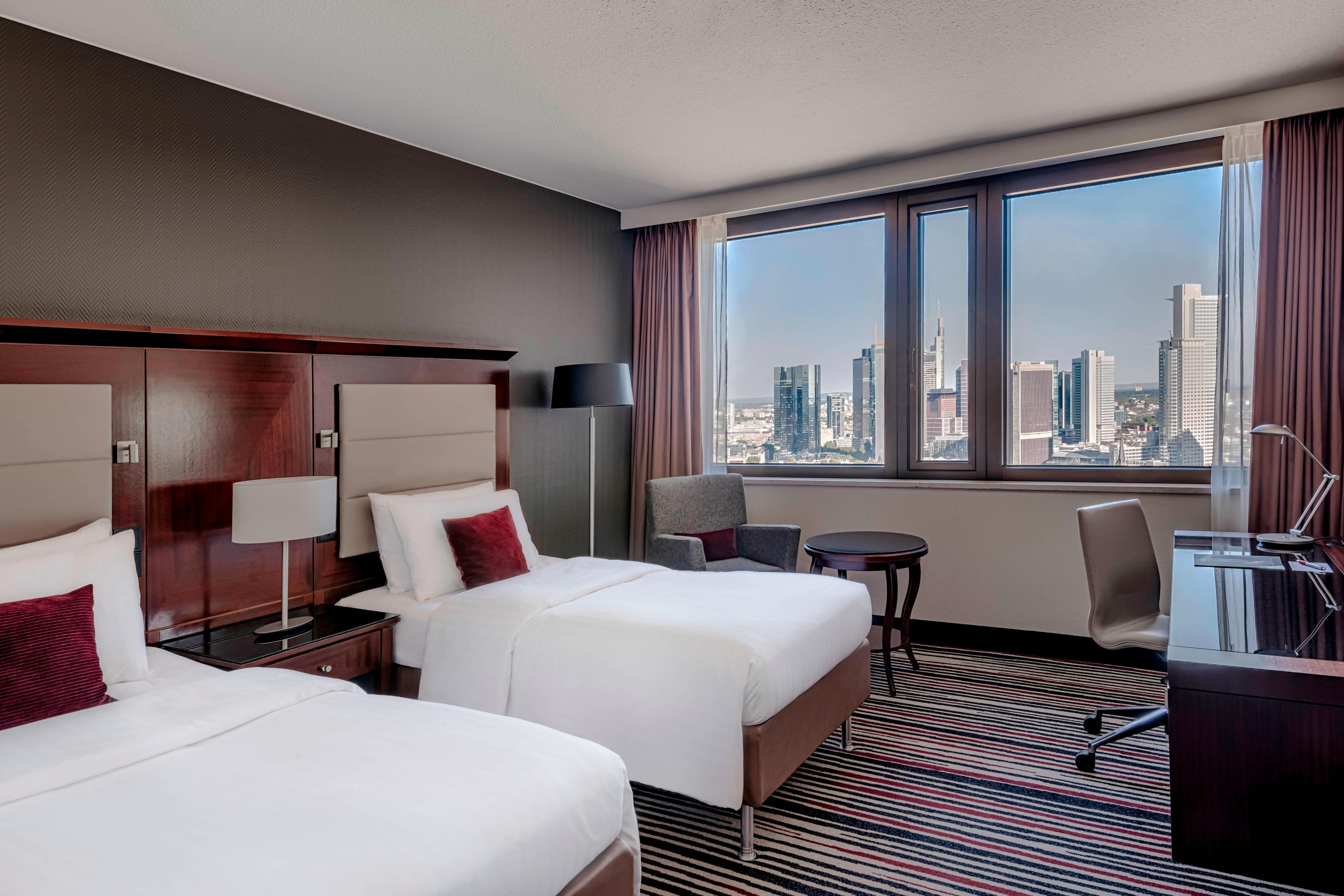 Executive Zimmer mit zwei Einzelbetten – Skyline-Blick