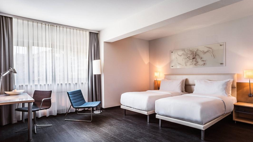 Habitación Superior con dos camas individuales