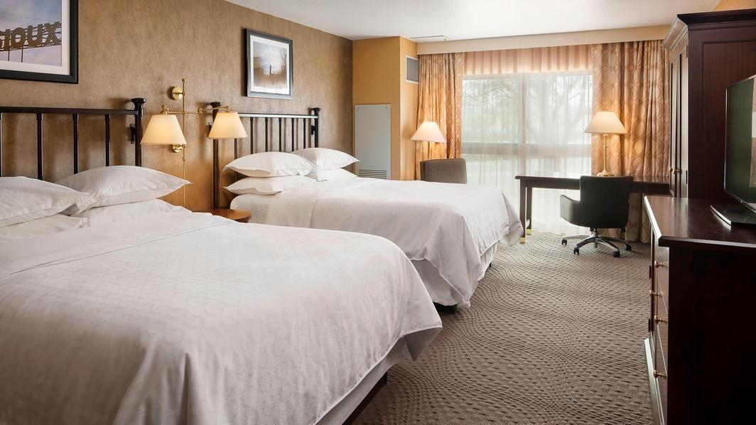 Chambre Exécutive avec deuxgrands lits