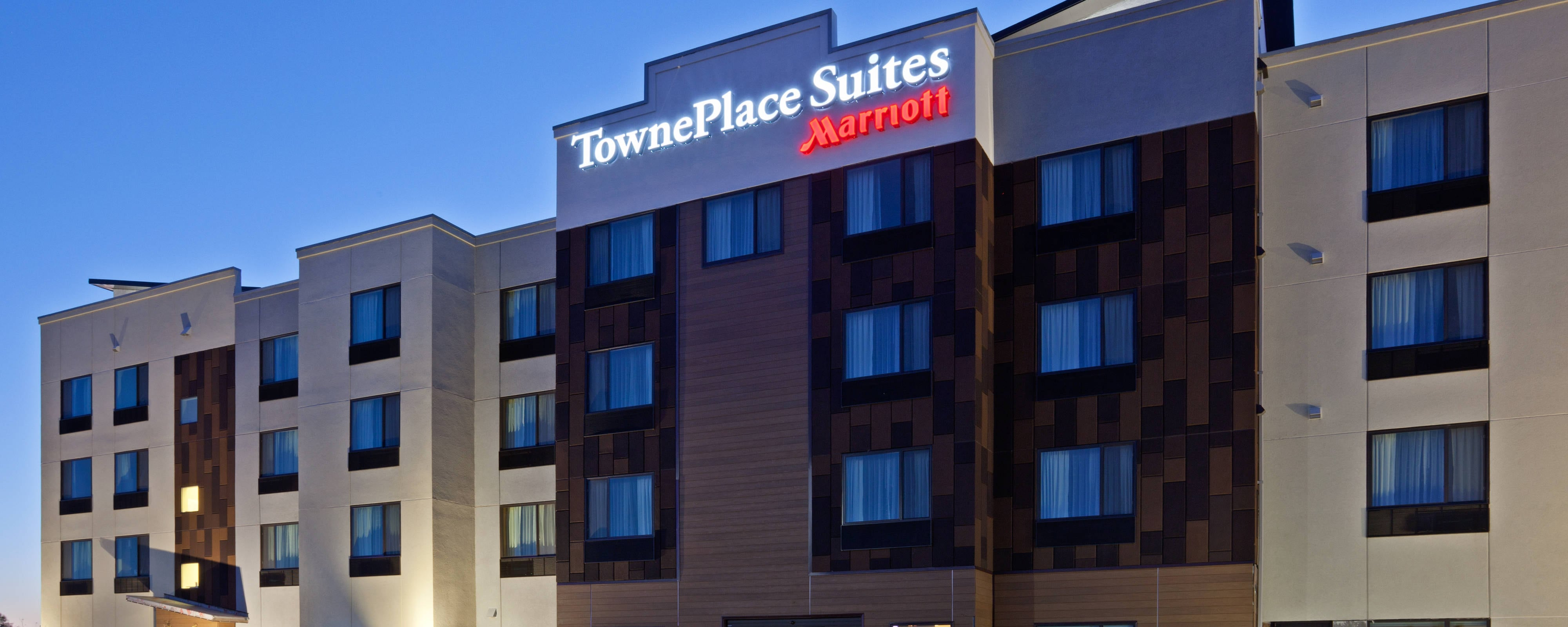Fachada del TownePlace Suites Sioux Falls South