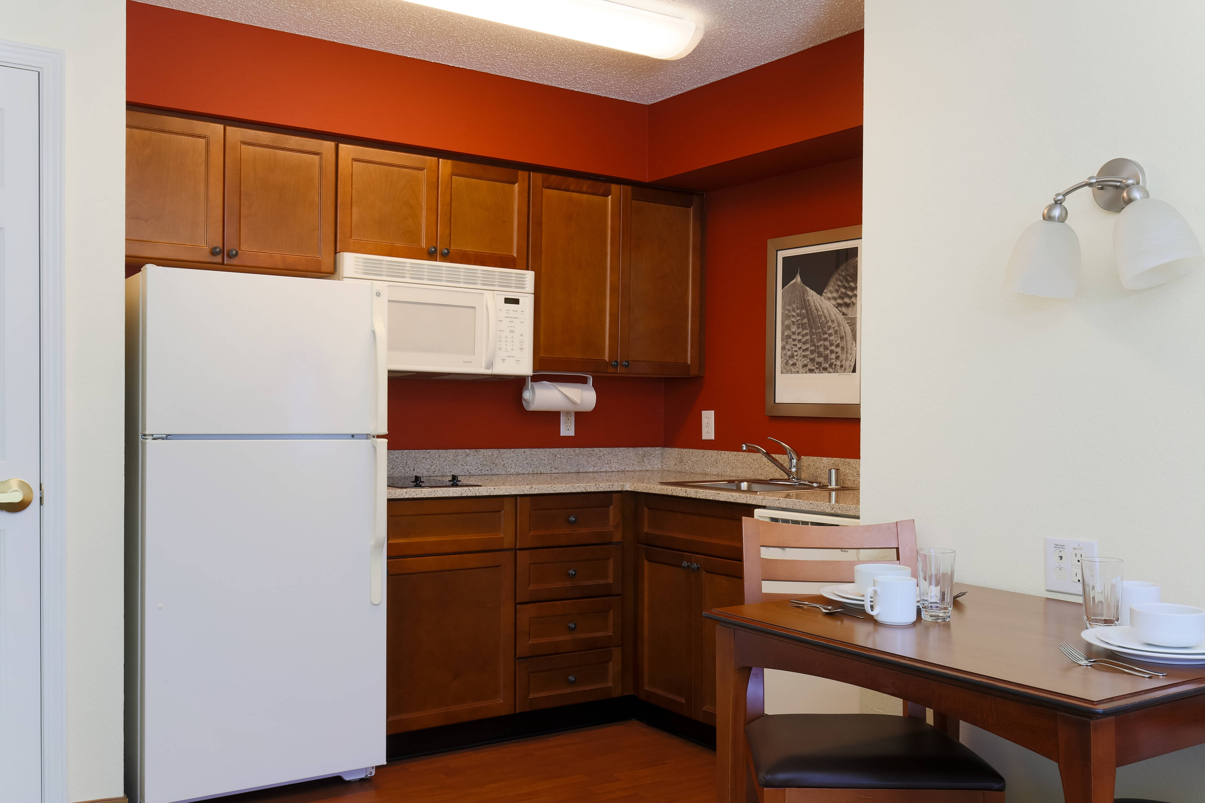 Fort Smith Arkansas One-Bedroom Kitchen
