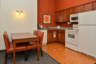 Loveland Colorado Extended Stay Hotel Room Kitchen