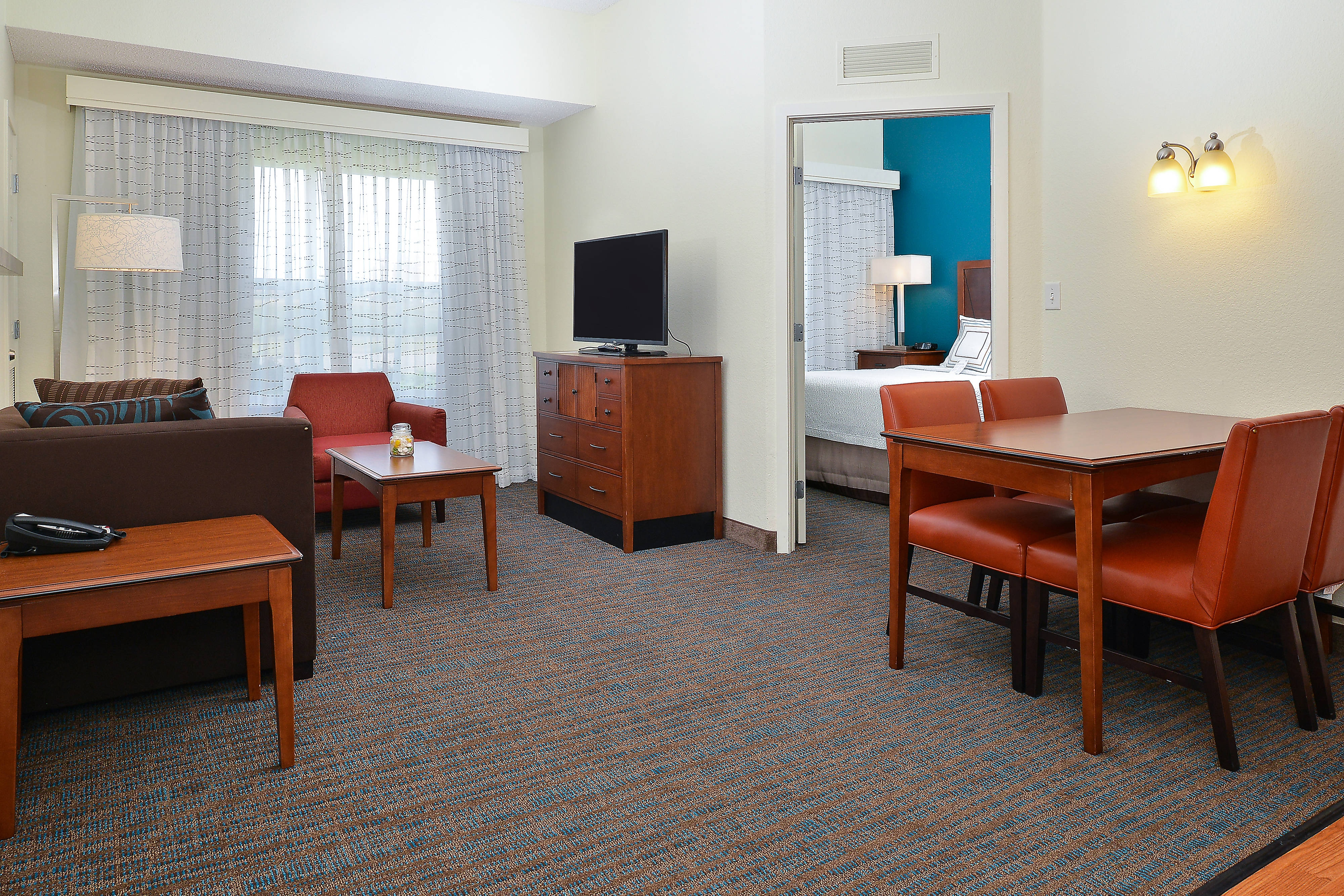 Loveland Fort Collins Hotel Room Living Area